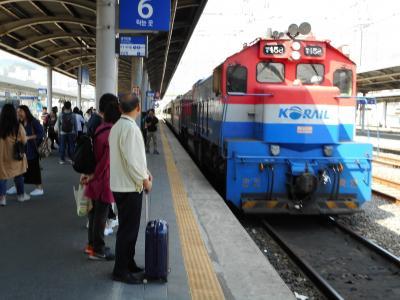 鉄路で韓国縦断 オヤジ1人旅(前半=釜山から慶州)