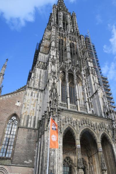 ドイツ南部3大名城巡り 4泊6日自力でどれだけ周れるか 【3】 ウルム