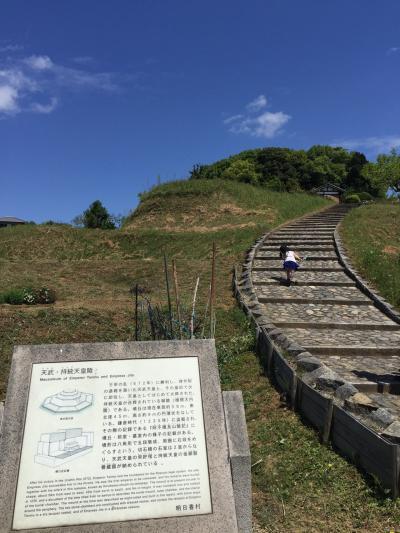 子連れ明日香村サイクリング ~飛鳥から橿原~