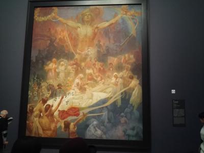 スラブ叙事詩に圧倒されたMucha展 in 国立新美術館