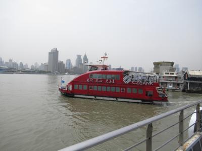 上海 黄埔江フェリー