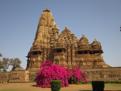 ラージャスターンと北インドの旅 (14)        カジュラーホー西群の寺院を観る。