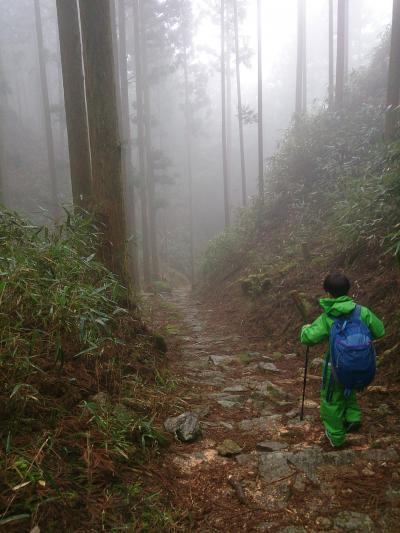 やるからには本気の熊野詣 ☆本宮~新宮~那智~大雲取越~小雲取越~本宮 祈りの道☆ その弐 大雲取越で小口まで