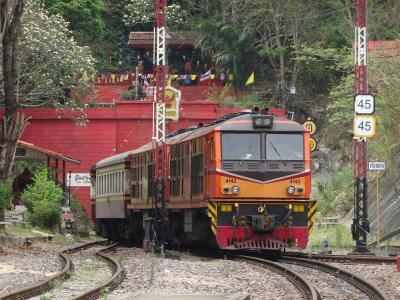 ちょこっとチェンマイ(タイ・ローカル鉄道でランパーンへ)