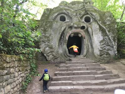 GWローマ・フィレンツェ子連れ7日間の旅6日目(怪物公園・滅びゆく街編)