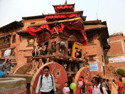 ネパール二人旅9 バクタプルで新年を迎える