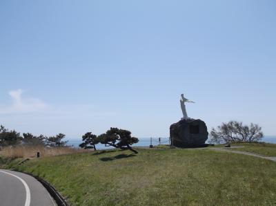 乙女の像(秋田県山本郡八峰町)があったので立ち寄りました・・・