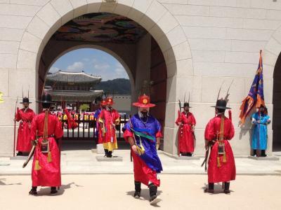 ほぼ初めてのソウル 満喫ツアー 3日目、帰国日 景福宮 国立民族博物館 国立古宮博物館