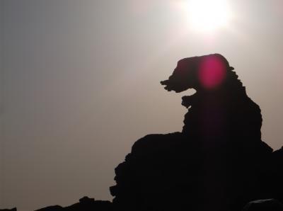 ゴジラ岩(秋田県男鹿市)へ行ってきました・・・