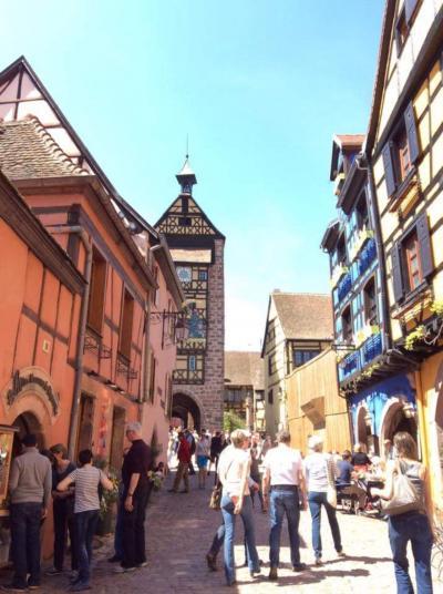ハウルの世界へ!フランスアルザス、世界一美しい村で飲む辛口リースリング