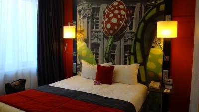 北フランスを巡る10日間の旅(23) 5日目 リールへ移動し、ホテルにチェック・イン後夕食。