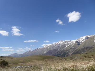 春の優雅なアブルッツォ州/モリーゼ州 古城と美しき村巡りの旅♪ Vol54(第3日) ☆TeramoからCampo Imperatoreへ:グラン・サッソ・ディタリア山脈を眺めて♪