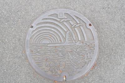 茅ヶ崎市のマンホール蓋、側溝蓋
