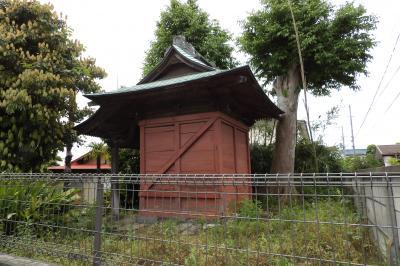 厄一王子社向かいの屋敷内神社