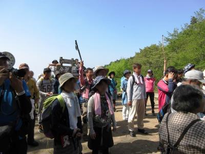 金剛山 山頂の「ライブカメラ」に写りに行く旅