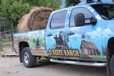 アメリカ3州・カナダ2州、国境沿いドライブの旅2週間2016 48、昼間、Historic O'Keefe Ranchで遊ぶ