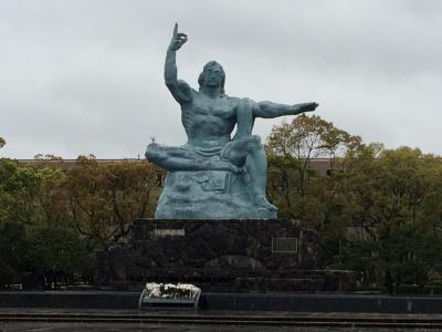 本格的な雨の中長崎市内をぶらぶらし、最後にまた想定外のトラブル/コツコツ貯めたマイルの特典航空券でひとっ跳び