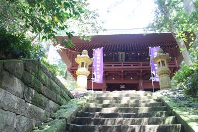 三浦半島霊場巡りと初夏の風情を訪ねて、その1。薬師7霊場、不動尊2霊場、走水神社など。
