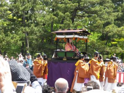 京都宇治と葵祭見物