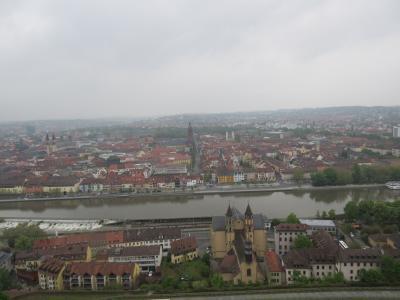 南ドイツへの旅 ~ヴェルツブルク~ マリエンブルク要塞