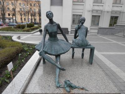 2017GW・ミンスクでベラルーシ共和国立アカデミー・ボリショイ・オペラ・バレエ劇場で大好きなバレエ鑑賞をしてきました。