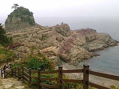 163回目訪韓は巨済の海金剛、外島を訪ねてチムジルバン泊の2泊3日旅(2017/6/9金~11日)⑦/⑩。巨済の風の丘、神仙台
