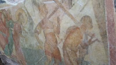 全日空利用決定版!ルーマニア・ブルガリア2か国周遊10日間 5日目イワノボ岩窟教会・トラキア人の墳墓