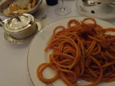 イタリア旅行記 レストラン紹介