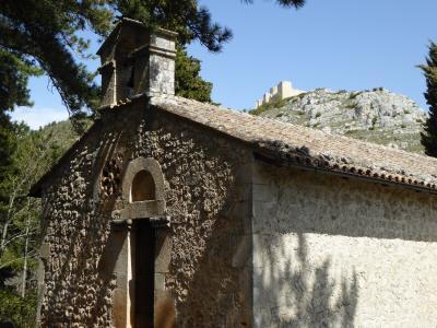 春の優雅なアブルッツォ州/モリーゼ州 古城と美しき村巡りの旅♪ Vol118(第5日) ☆Bominaco:アブルッツォ州至宝「Oratorio di San Pellegrino」の外観をゆったりと鑑賞♪