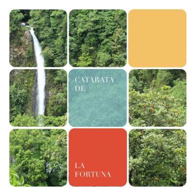 コスタリカ旅行 Day8 期待以上のフォルトゥーナの滝