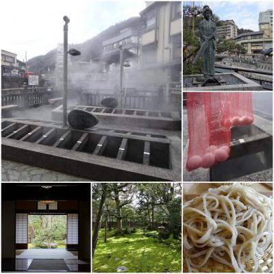 山陰の名湯 岩井温泉 再訪(1)久美浜で蕎麦ランチ&湯村温泉でゆで卵