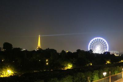 ホテルブライトン~窓からはチュイルリー公園&エッフェル塔