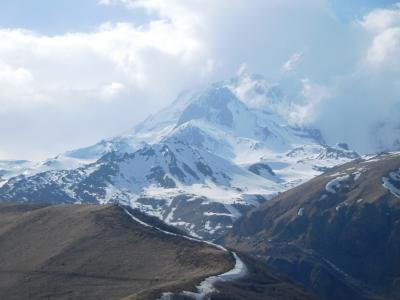 コーカサス3国2017GW旅行記 【8】コーカサス山脈2