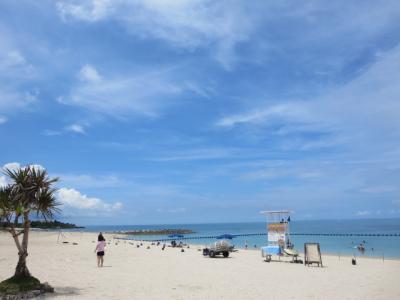 青い海と空が見たい!in沖縄。