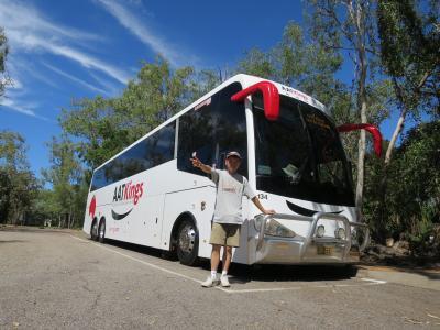 カカドゥ国立公園日帰り観光ツアーに参加しました。