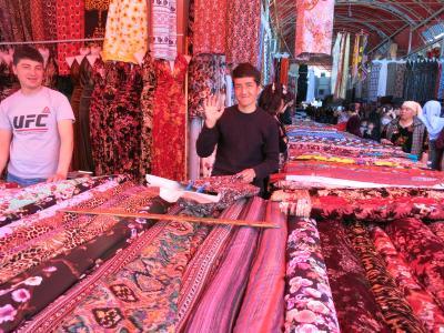 ウズベキスタン再訪(3) サマルカンドからウルグト観光など(2017年4月)