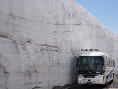 黒部立山アルペンルート『雪の大谷』へ行く①