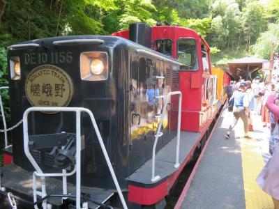 京都・嵐山トロッコ列車&竹林の小路