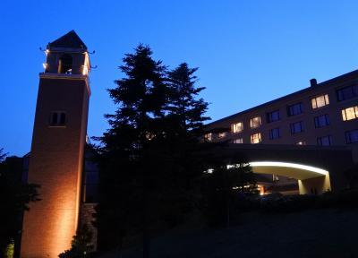 フルーツパーク富士屋ホテル(夜の中庭)