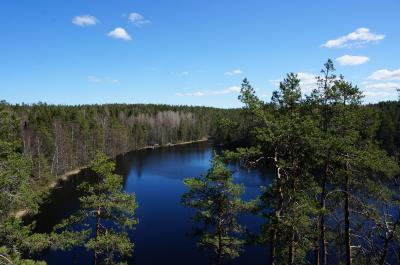 2度目のフィンランド ~7日目:ヌークシオ国立公園 都会のオアシス、お洒落サウナ ロウリュ~