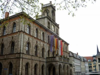 2017GW 初の東ドイツ~プラハ 【4】ワイマールその1 マルクト広場まで