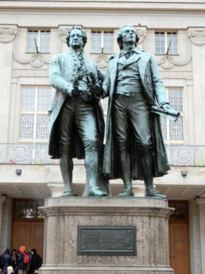 2017GW 初の東ドイツ~プラハ 【5】ワイマールその2 劇場広場とヴィトゥムス宮殿