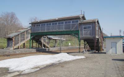 2017年4月 道央の旅(4日目-3)~小沢駅