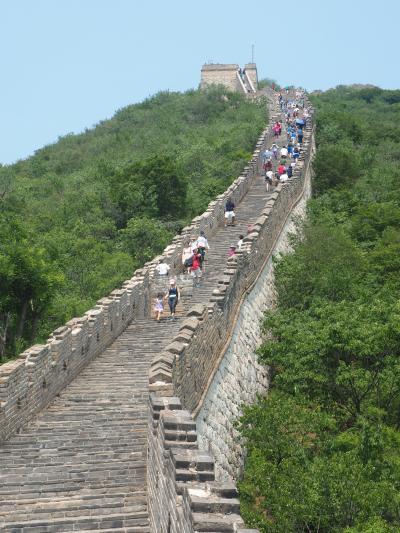 7年ぶりの中国は 北京で万里の長城と798芸術区巡り