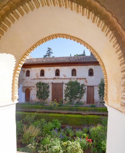 真夏のスペインその10 アルハンブラ宮殿・水の離宮ヘネラリフェ
