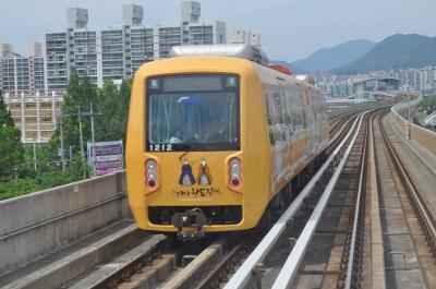 2017年5月釜山鉄道旅行7(釜山金海軽電鉄)