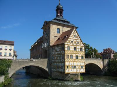 夏のヴュルツブルクとバンベルク
