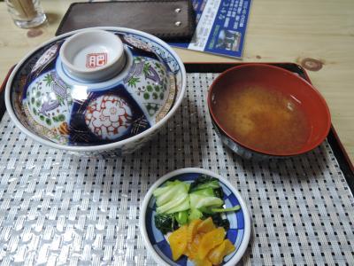 青春18切符の旅/その1の1日目 会津若松でソースとじカツ丼を食べ、大型の扇形機関庫を見た後、磐越西線で新潟へ