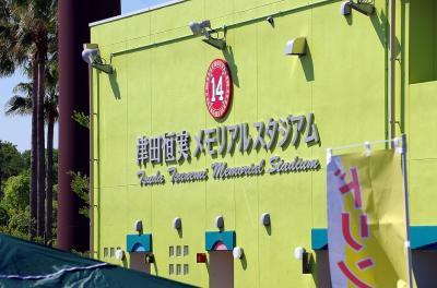 ウエスタン・リーグ公式戦、阪神対広島を津田恒実メモリアル・スタジアムで見る