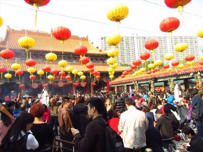 香港★旧正月の初詣 ~嗇色園黄大仙祠~
